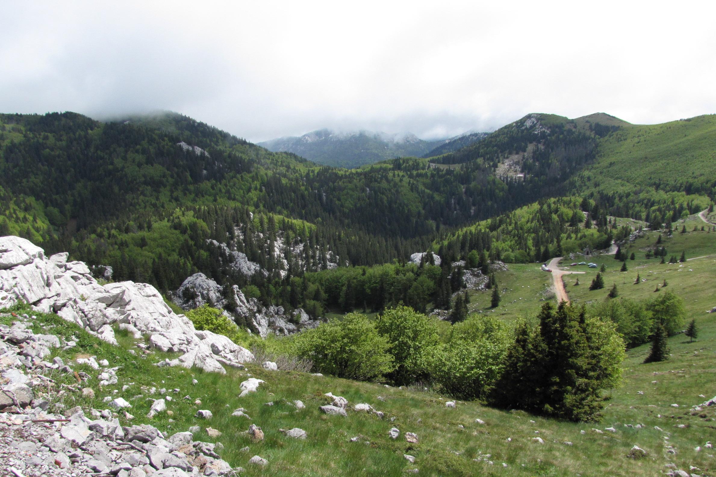 Túrázás Senjből, Velebit hegység csúcsai és völgyei
