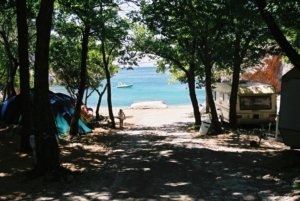 Búvárbázis története, régi út a tengerpartra